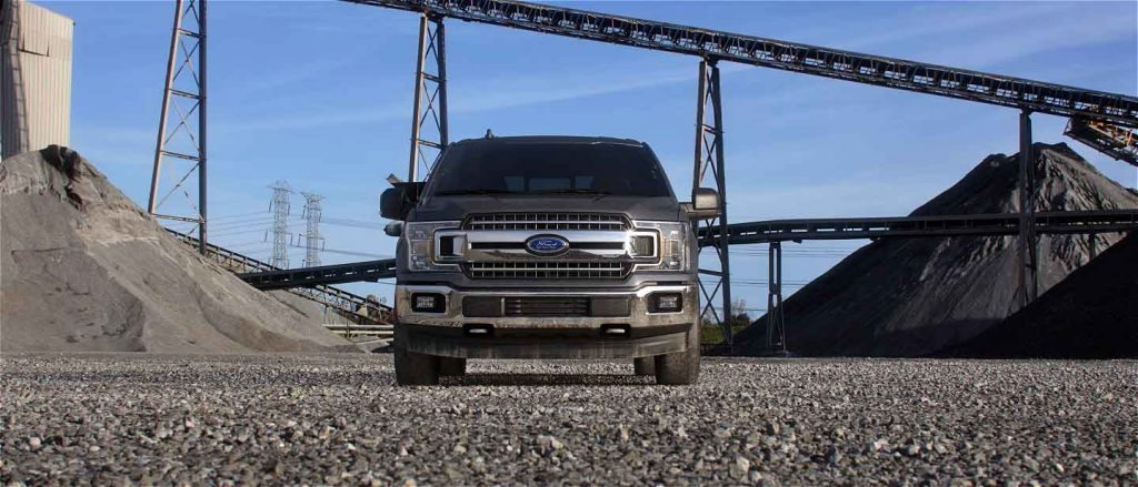 2019 Ford F-150 in Abyss Grey