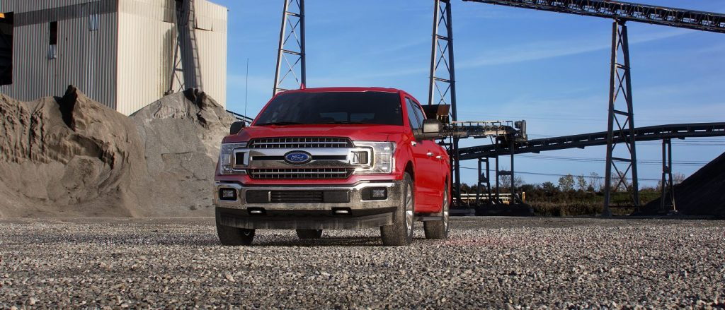 2019 Ford F-150 in Race Red