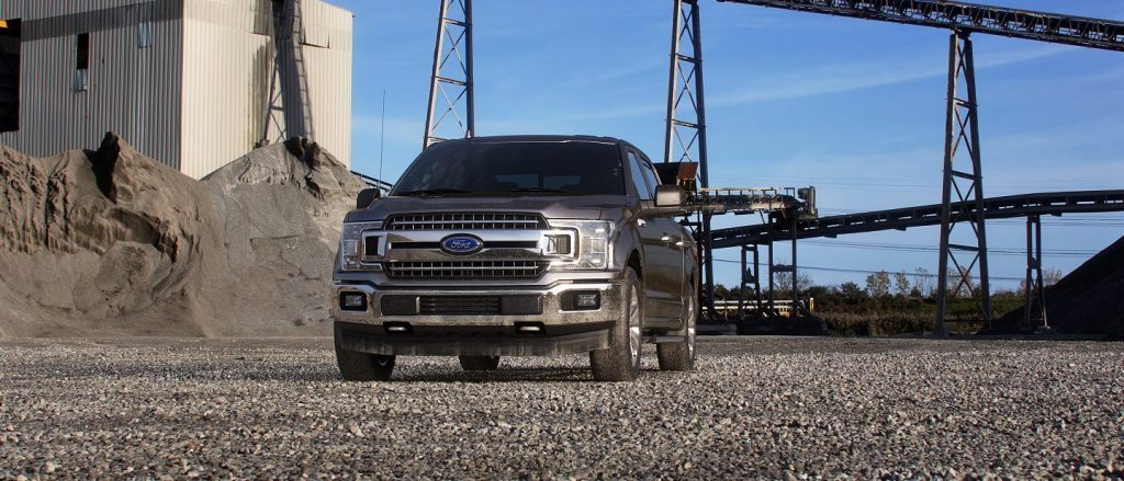 2019 Ford F-150 in Stone Grey