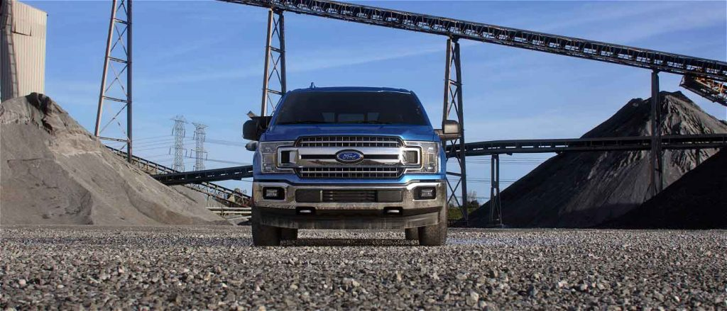 2019 Ford F-150 in Velocity Blue