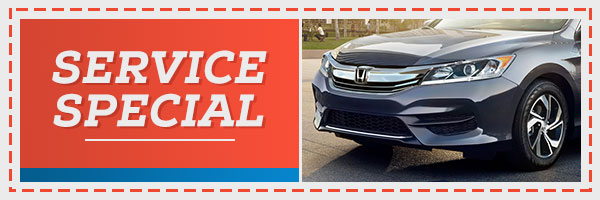 December Service Specials at Clark Knapp Honda!
