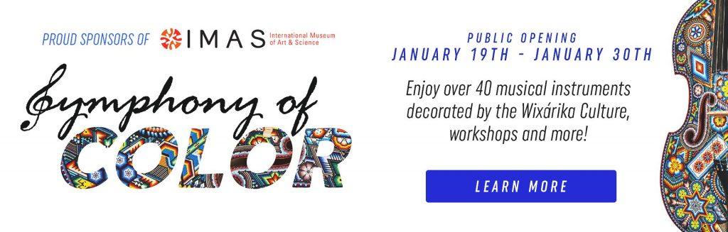 Clark Knapp Honda Sponsors the Symphony of Colors Exhibit This Month!