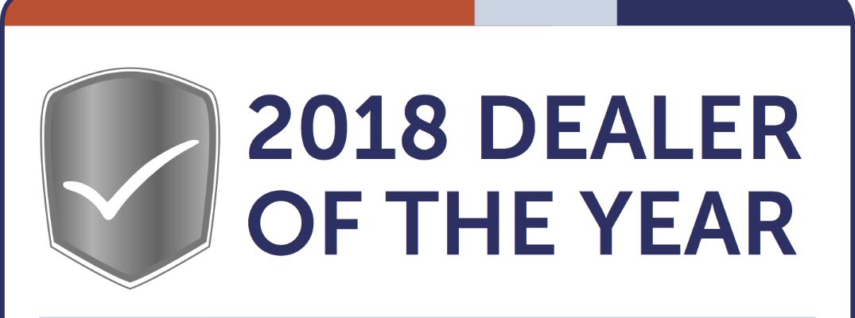 DealerRater Dealer of the Year Banner