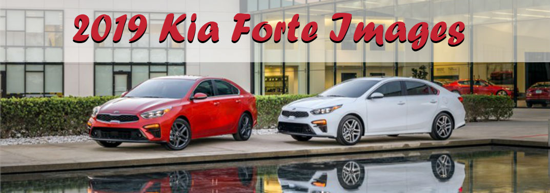 first look at the all-new 2019 Kia Forte with some interior and exterior images