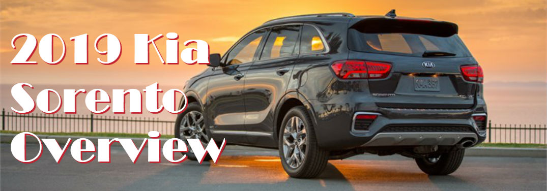 First look at the 2019 Kia Sorento overview and images
