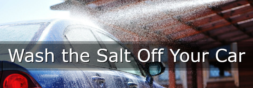 Why you should wash the salt off your car immediately