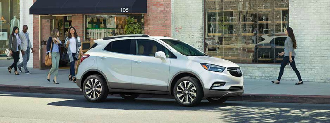 What S The Cargo Volume Of The 2017 Buick Encore