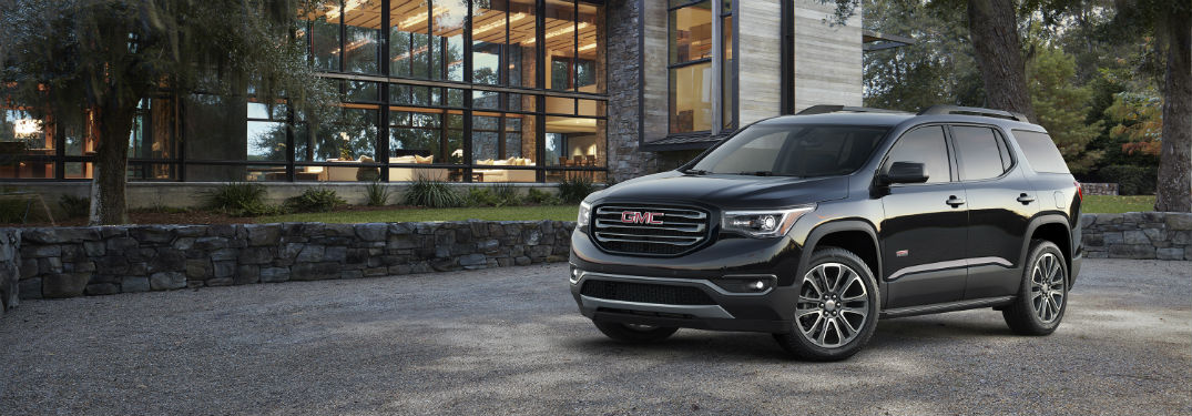 2018 GMC Acadia Cargo and Passenger Capacity
