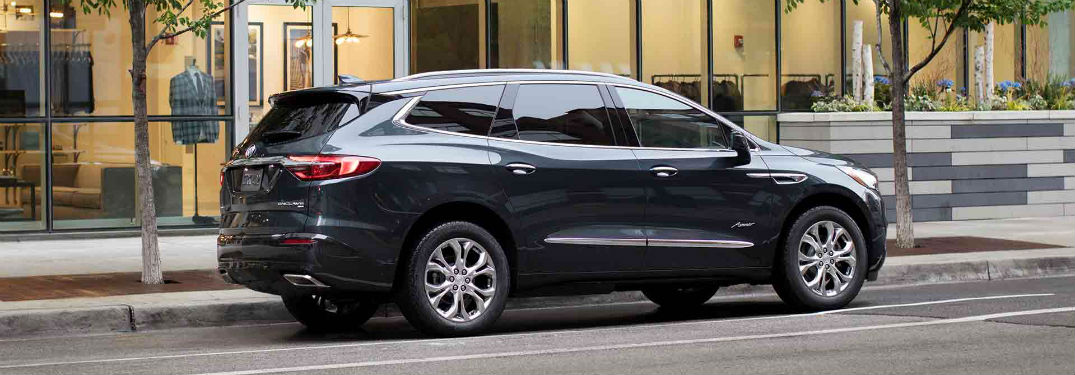 what are the 2018 buick enclave 39 s passenger cargo capacities. Black Bedroom Furniture Sets. Home Design Ideas