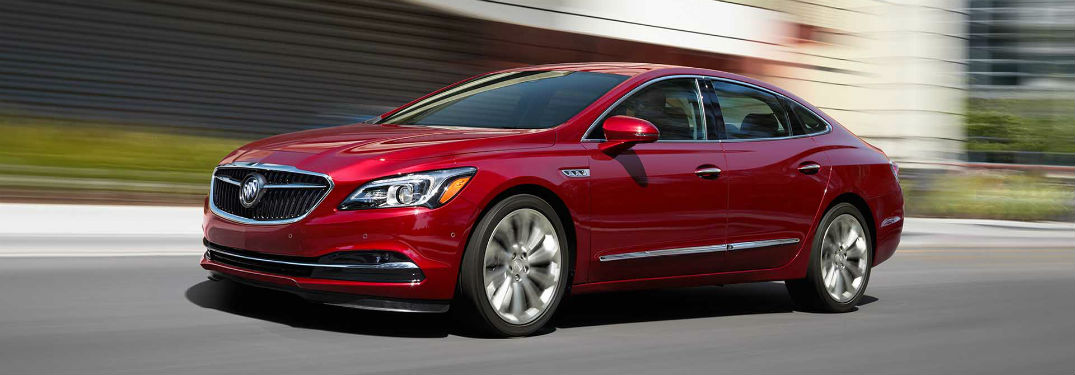 Driver's side exterior view of 2018 Buick LaCrosse