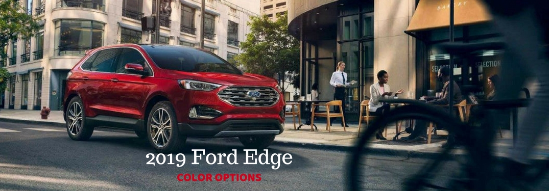 what are the color options for the 2019 ford edge. Black Bedroom Furniture Sets. Home Design Ideas