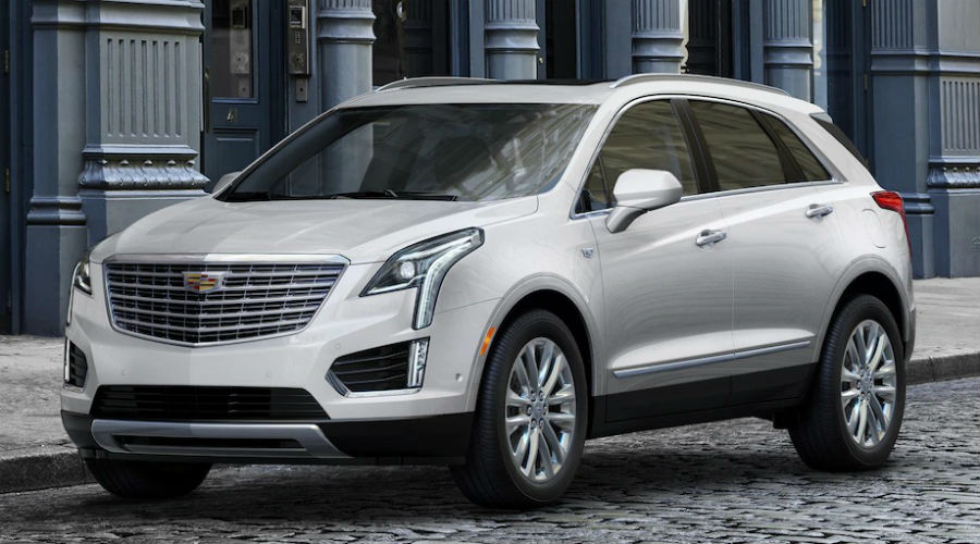 How Many Paint Color Choices are There for the 2019 Cadillac XT5?