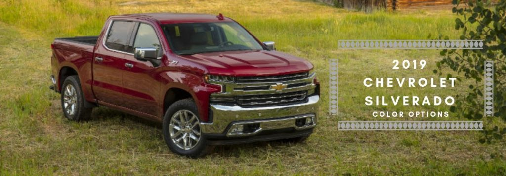 How Many Color Options are Available for the 2019 Chevy ...