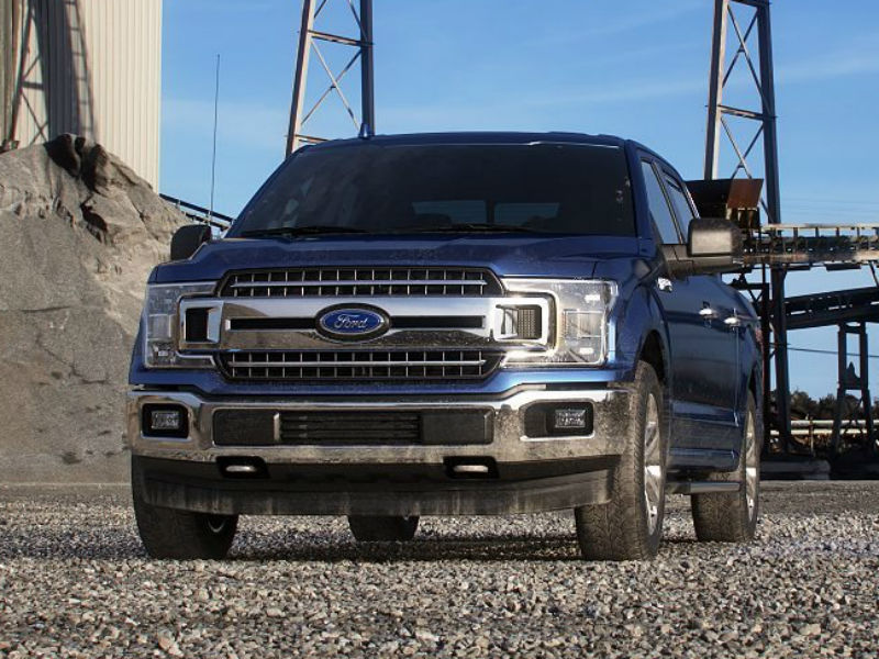2019 Ford F-150 in Blue Jeans