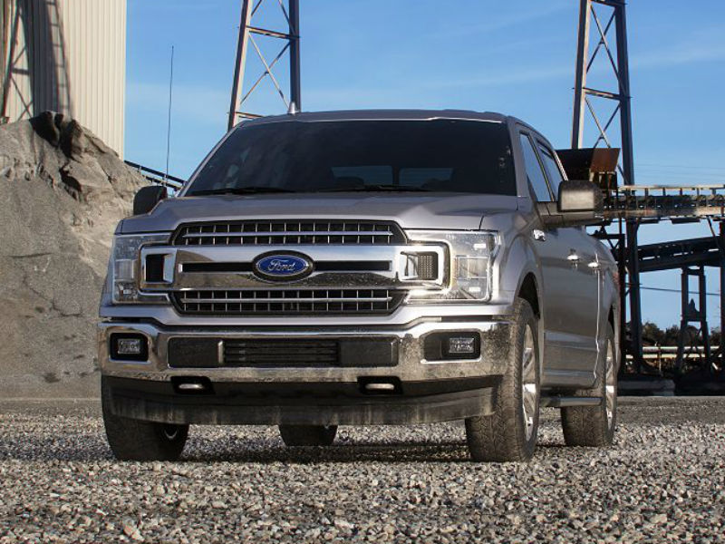 2019 Ford F-150 in Ingot Silver