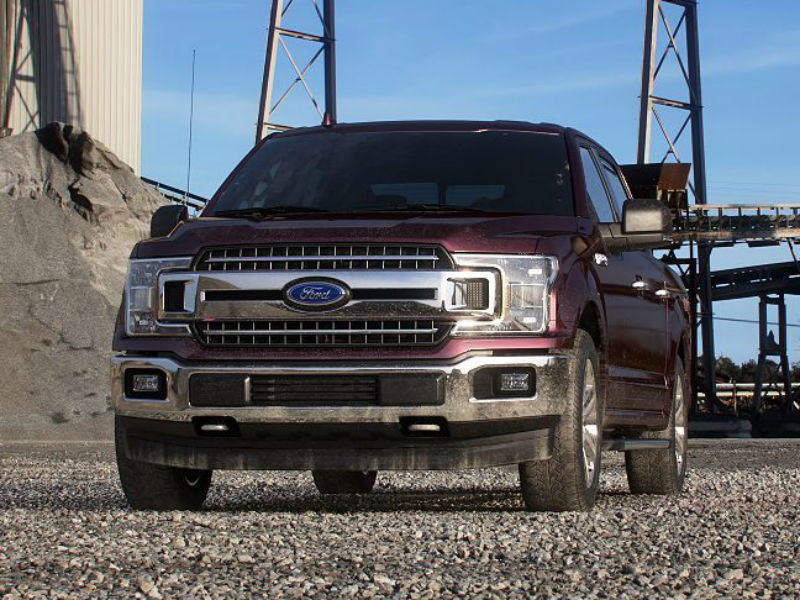 2019 Ford F-150 in Magma Red