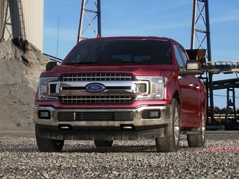 2019 Ford F-150 in Ruby Red