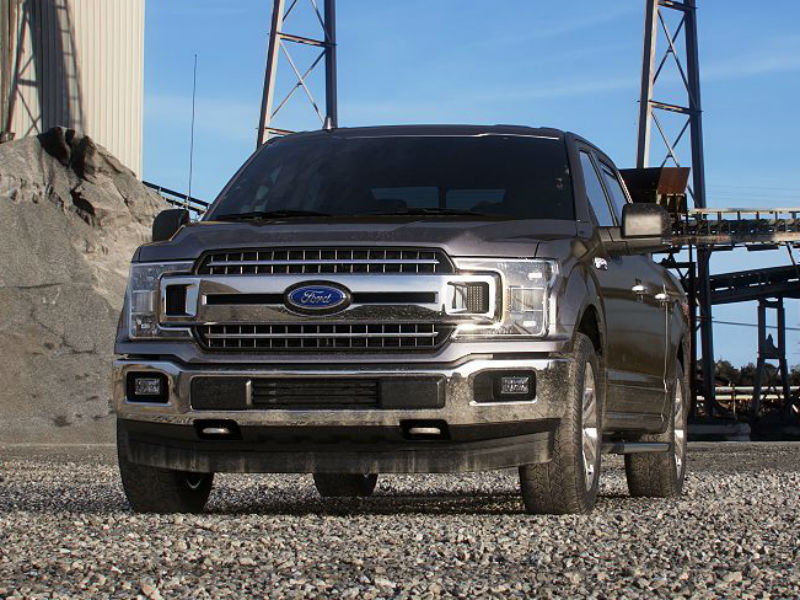 2019 Ford F-150 in Stone Gray