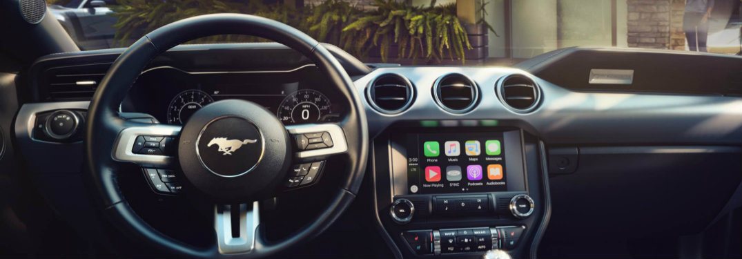 apple carplay in ford mustang