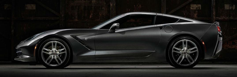 2020 Chevy Corvette exterior profile