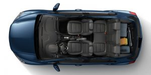 Artist Cargo on 2020 Chevy Trax from above