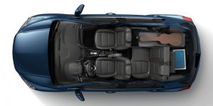 Musician Cargo on 2020 Chevy Trax from above