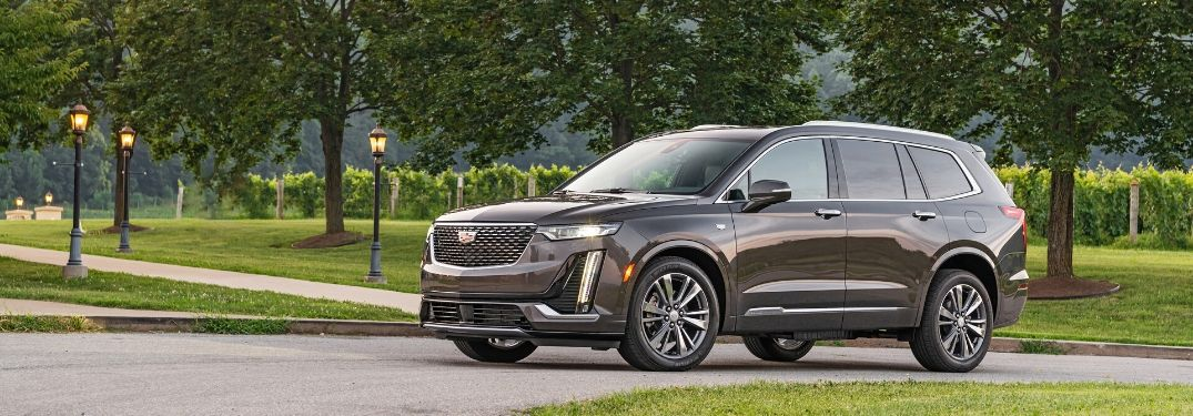 2020 Cadillac XT6 from exterior drivers side