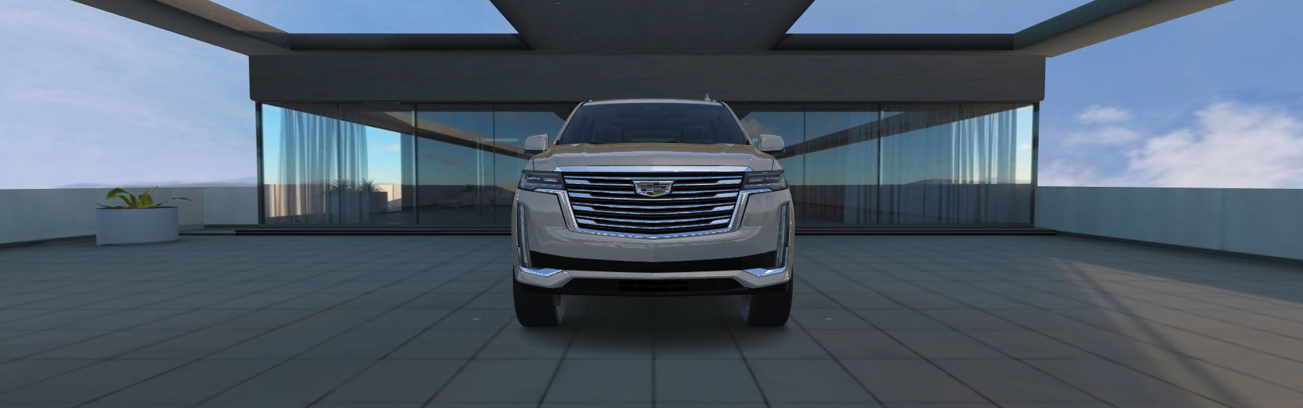 Escalade grille design
