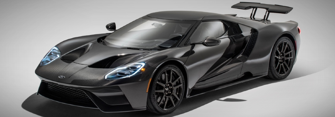 ford gt in black color