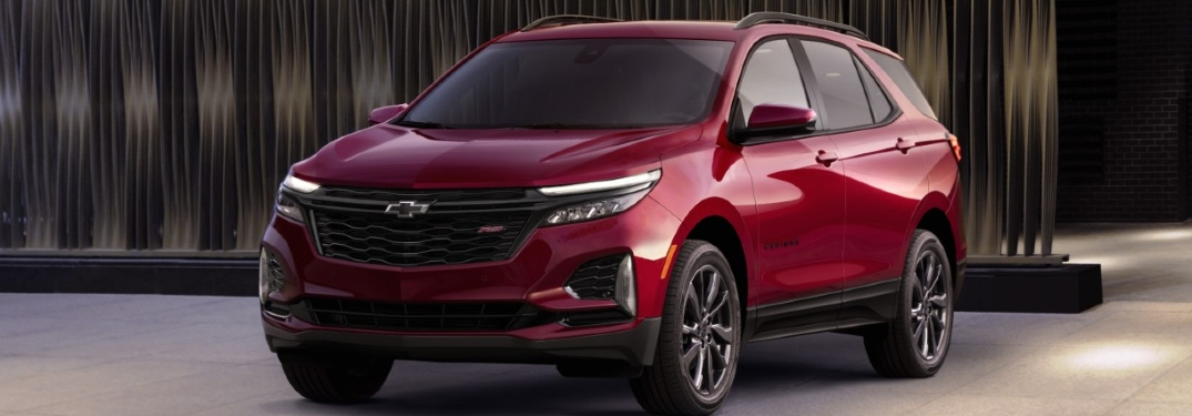 red 2021 chevy equinox