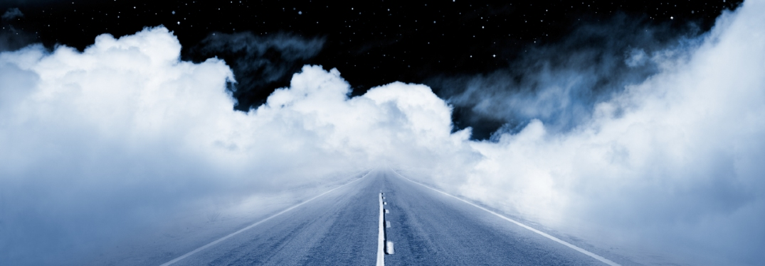 highway going into space