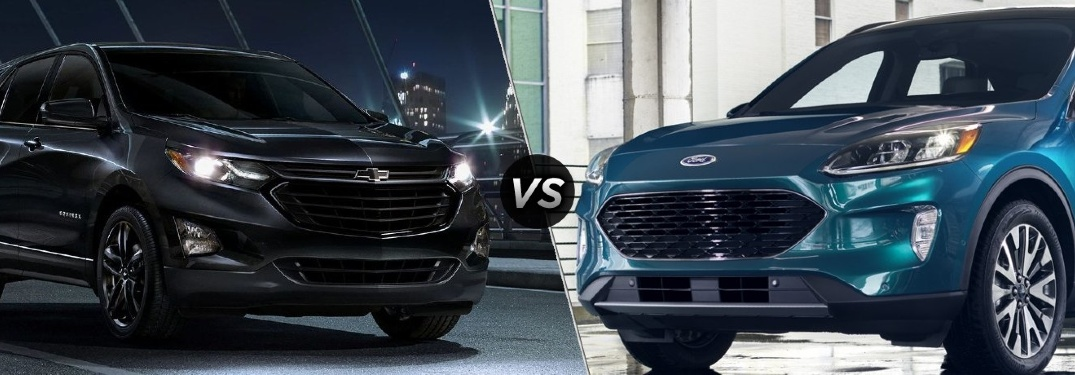 Should I get a 2020 Chevy Equinox or a 2020 Ford Escape?