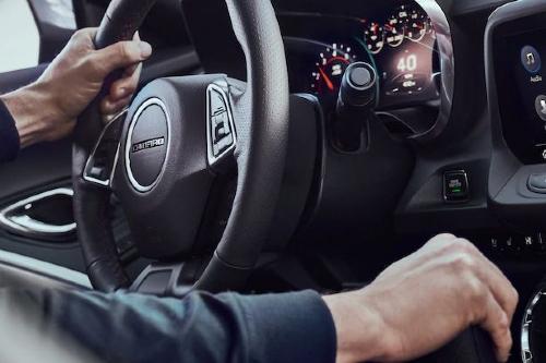 2020 Camaro cockpit showcase