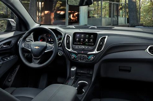 2020 Equinox cockpit showcase