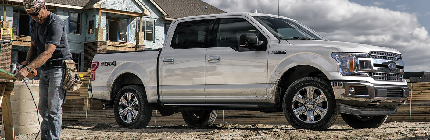 2020 Ford F-150 side view