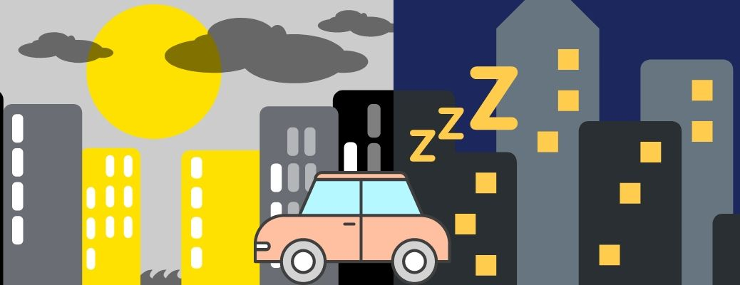 Is it okay to sleep in your car in Milwaukee?