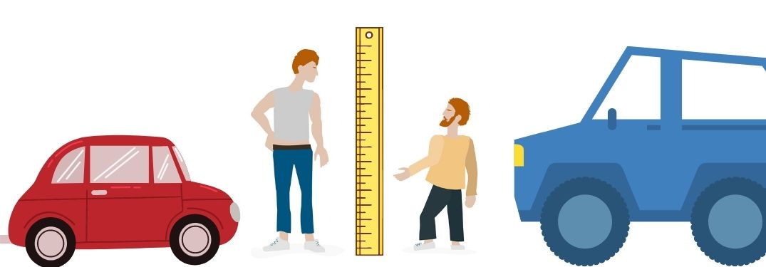 How do I find the ideal vehicle for my height?