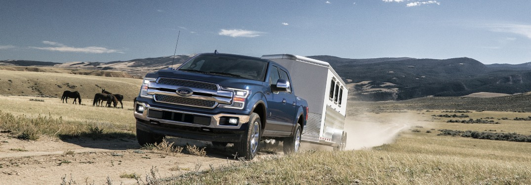How much can the 2020 Ford F-150 tow?