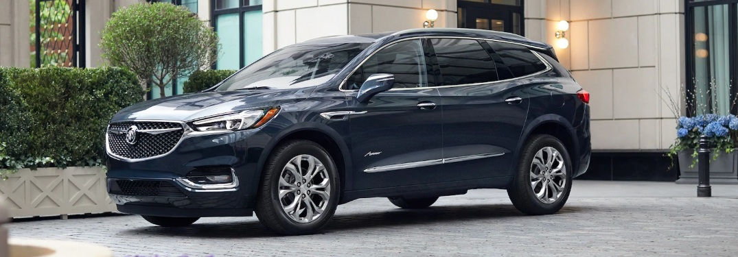 2020 Buick Avenir parked outside of a brick building