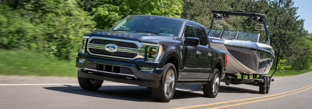 How much can the 2021 Ford F-150 tow?