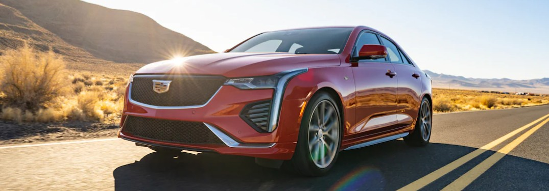 2021 Cadillac CT4 front profile