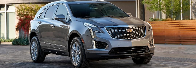 2021 Cadillac XT5 Exterior Passenger Side Front Profile