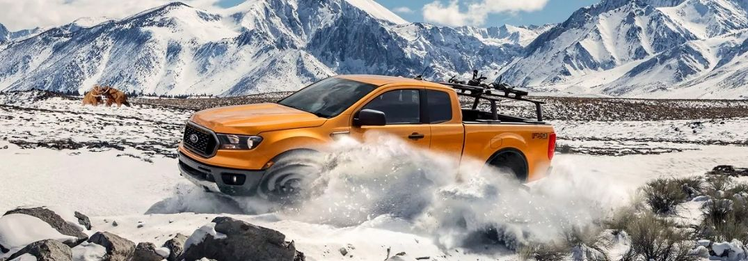 What are the Performance Features of the 2021 Ford Ranger?