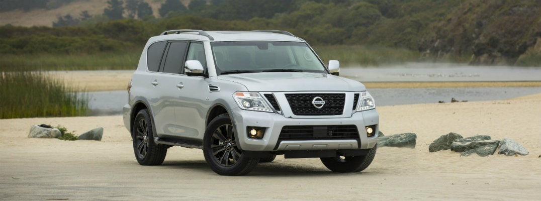 Seating and Cargo Capacity of the 2017 Nissan Armada