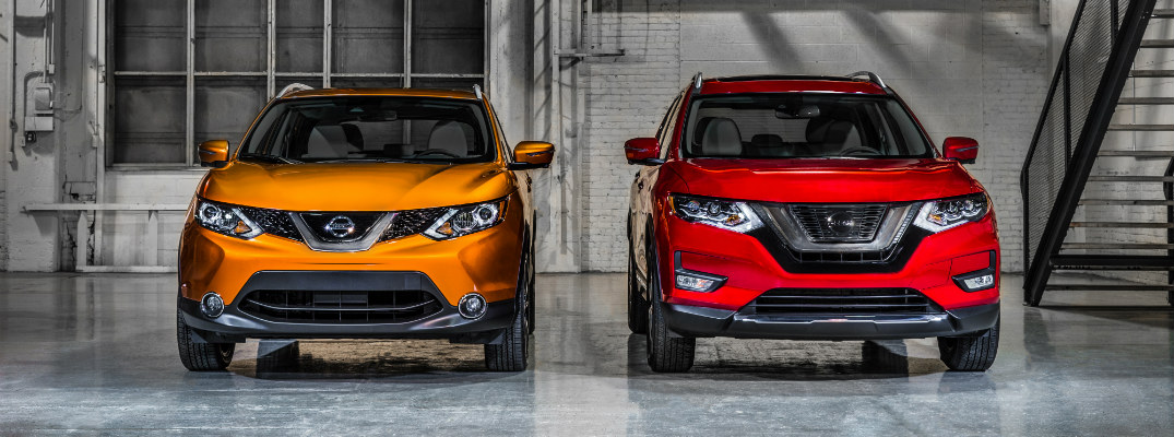 2017 Nissan Rogue and Rogue Sport