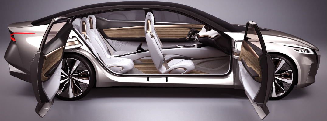 Nissan Vmotion 2.0 concept with doors open