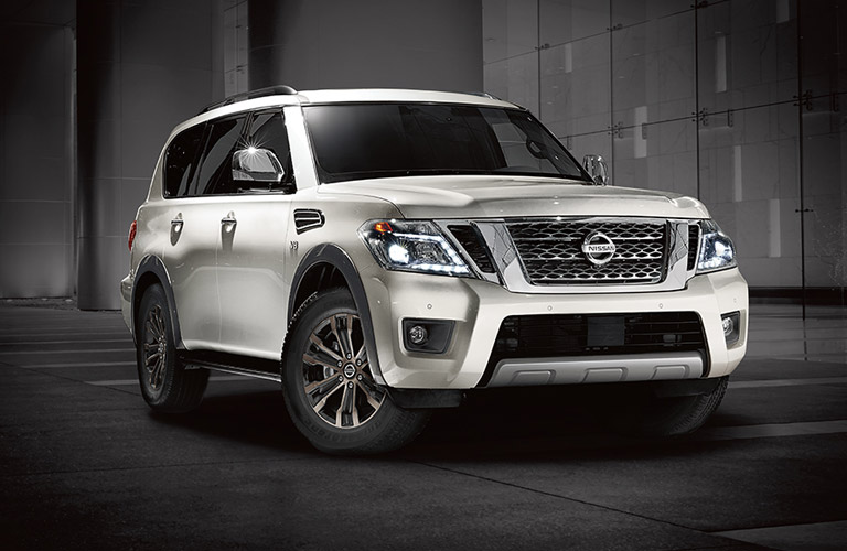 2017 Nissan Armada Exterior View in Silver