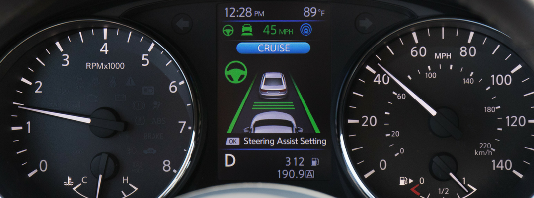 Meters and Display - Nissan ProPILOT Assist Driver Technology is Ready for US Launch