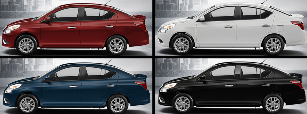 2018 nissan versa hatchback. perfect versa display of 2018 nissan versa sedan color options inside nissan versa hatchback