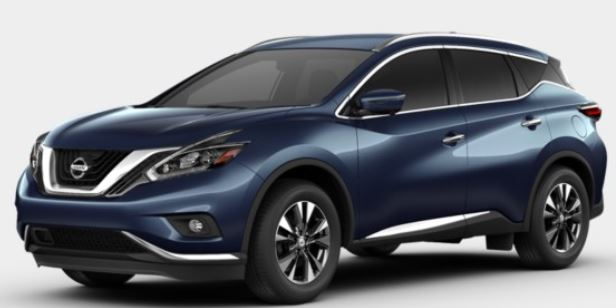 2018 Nissan Murano in Arctic Blue Metallic
